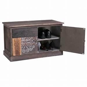 Sitzbank Flur Vintage : schuhbank schuhschrank sitzbank ablage f r schuhe flurbank ~ Watch28wear.com Haus und Dekorationen