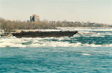 Scow In The Niagara River by Old Scow In The Upper Niagara River C 1980 S Details