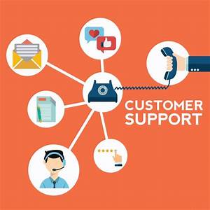 Customer support background Vector | Free Download