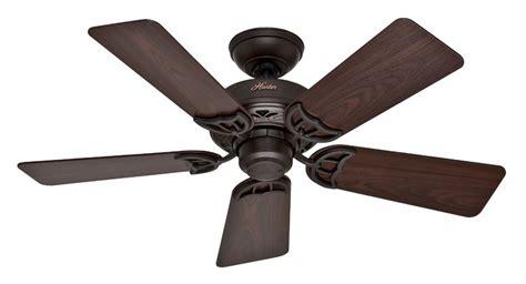 hunter 52067 hudson 5 blade ceiling fan with black walnut