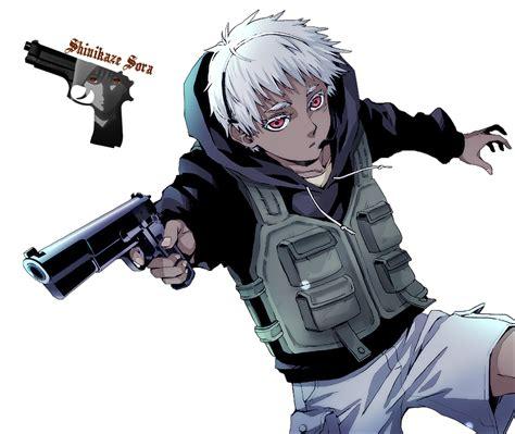 child soldier jonah   manga jormungand anime