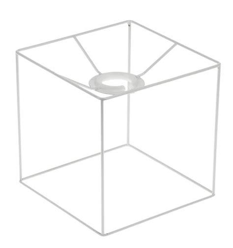 Lampenschirmgestell, Quadratisch (15 X 15 Cm) Opitec
