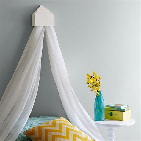 how to drape a canopy bed curtain bed canopy