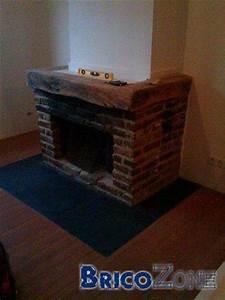 Peindre Des Briques De Cheminée : peindre les briques d 39 une chemin e ~ Farleysfitness.com Idées de Décoration