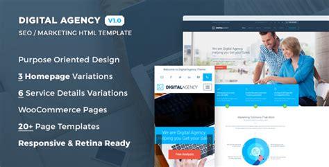 digital agency seo marketing html template nulled download free digital agency v1 0 seo marketing html