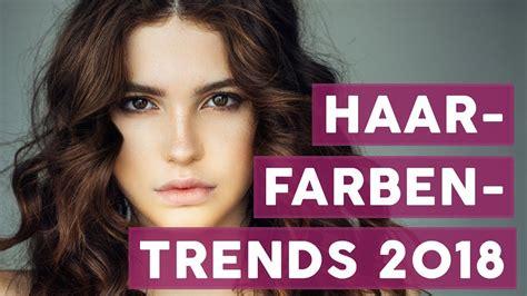 2018 Trends Something Borrowed And Plenty That Is New: Das Sind Die Schönsten Haarfarben-Trends Für 2018