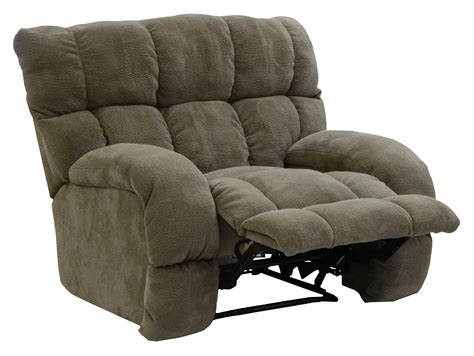 siesta lay flat recliner with wide seat by catnapper