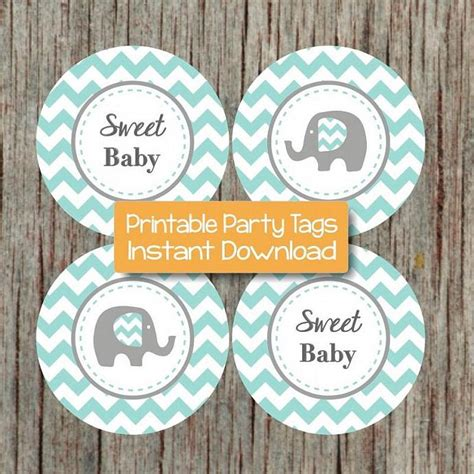 For this purpose, you will need realignment notably paper environment. Printable Baby Shower Elephant Blue by ...