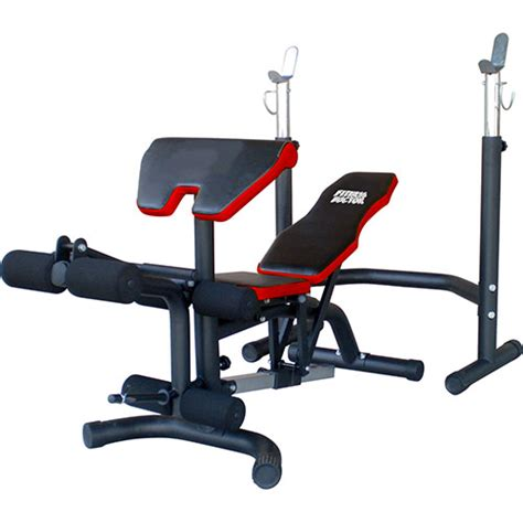 Black Bench Fit by Banc De Musculation Fitness Doctor Black Bench