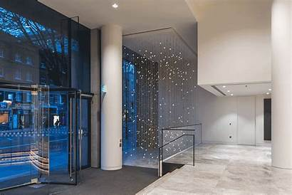 Office Acrylicize Equilibrium Lighting Interior Installation London