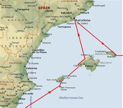 Mapa De Las Islas Baleares