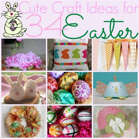 Cute Craft Ideas For Easter Favecrafts