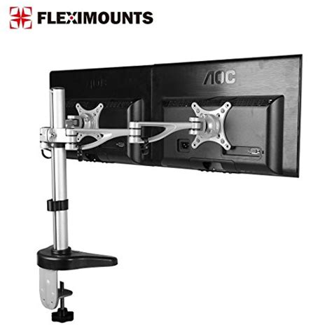 Desk Mount Monitor Arm Malaysia by Monitor Accessories Fleximounts M13 Cl Dual Monitor Arm