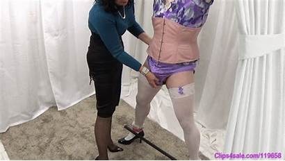 Sissy Forced Panty Milking Mommy