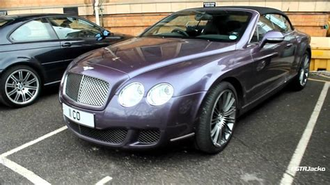 Purple Bentley Continental Gtc Speed