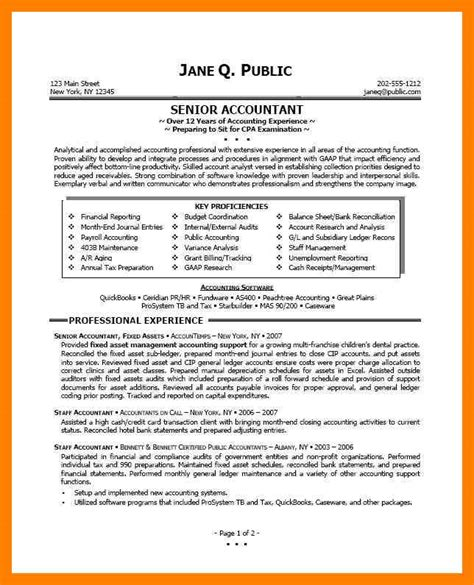 11856 professional accounting resume templates 10 accountants resume exle time table chart