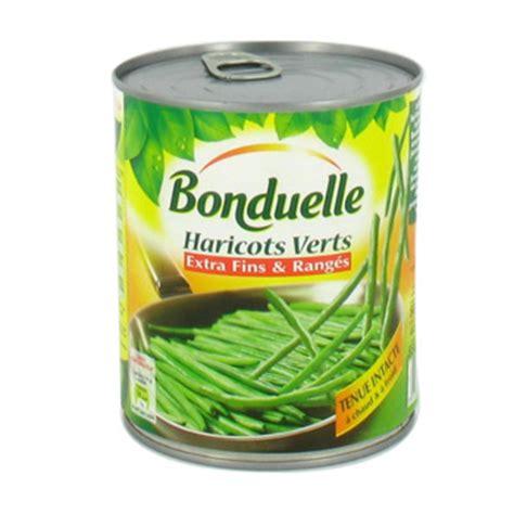 cuisiner des haricots verts en boite haricots verts fins et ranges bonduelle 440g