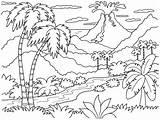 Coloring Sunset Popular Ocean Printable sketch template