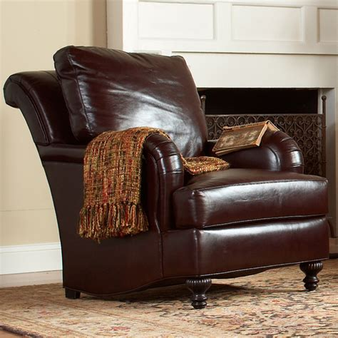stickley greenville chair leather cl 8737 ch