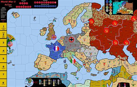map  ww europe  travel information