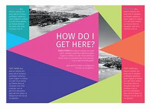 Two Fold Brochure How To Create A Colorful Brochure For Print Using Coreldraw