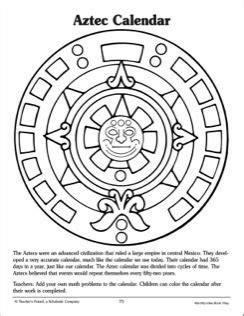 Aztec Calendar Activities