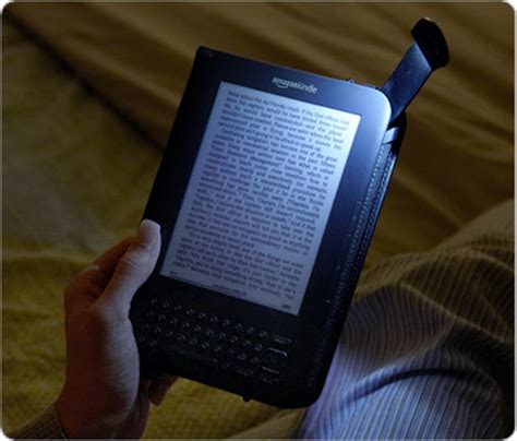 Kindle With Light by Kindle Lighted Leather Cover Black Fits
