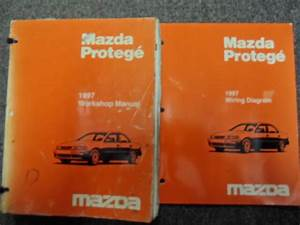 1997 Mazda Protege Service Repair Shop Manual Set Oem W