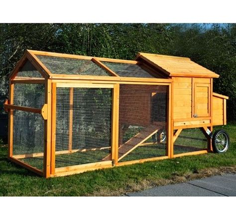 frugahcom pawhut deluxe portable backyard chicken coop