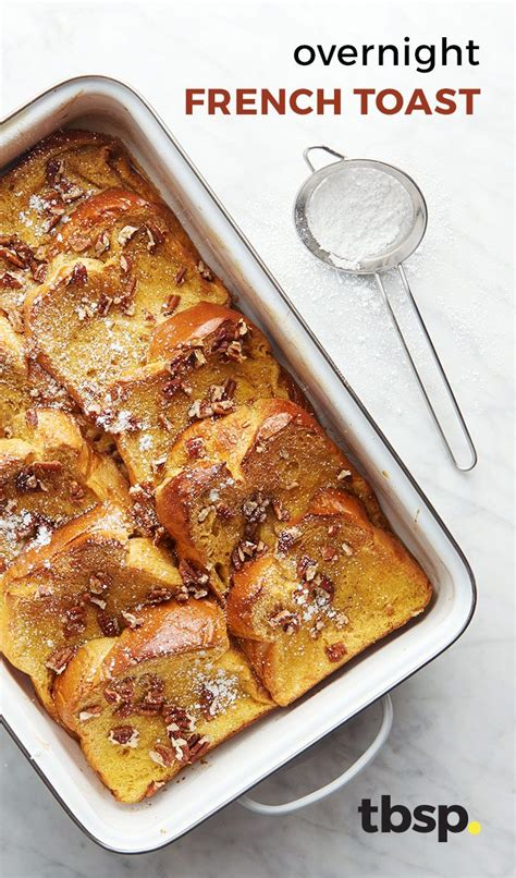 Food Recipe Easy Overnight French Toast Casserole