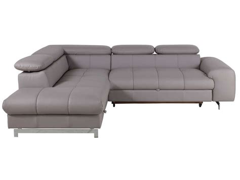 canapé d angle coffre de rangement canapé d 39 angle convertible gauche 4 places coffre de