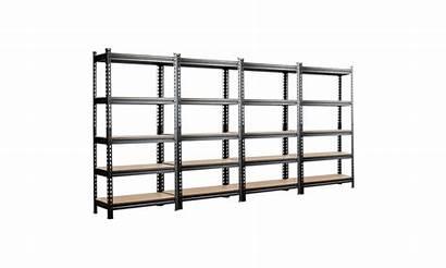 Costway Tier Pcs Metal Shelves Adjustable Rack