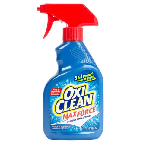 stain remover oxiclean 12 oz max force stain remover spray