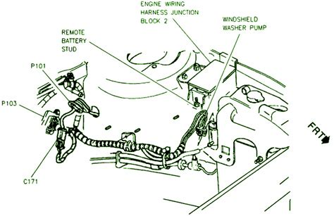 98 Chevy Lumina Engine Diagram by Windshield Washer Circuit Wiring Diagrams
