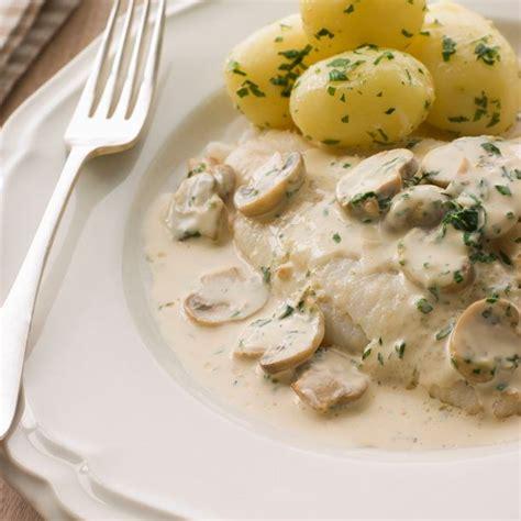 cuisine l internaute recette poisson blanc aux chignons à la crème