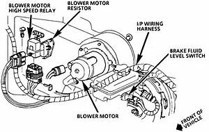 Where Is The Blower Assembly Located On A 1994 Chevy Lumina Apv Van  The Blower In The Back