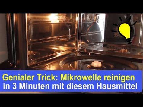 Mikrowelle Sauber Machen by Mikrowelle Reinigen Mikrowellen Mit Hausmittel Essig