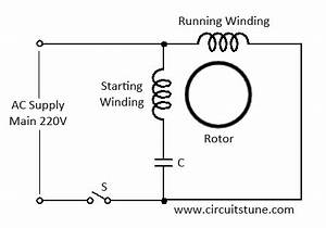 ceiling fan wiring diagram with capacitor connection With capacitor wiring diagram also ac fan motor capacitor wiring diagram