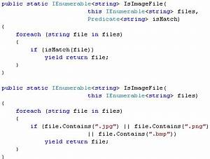 Writing custom linq extension methods C# Writing Your Own LINQ