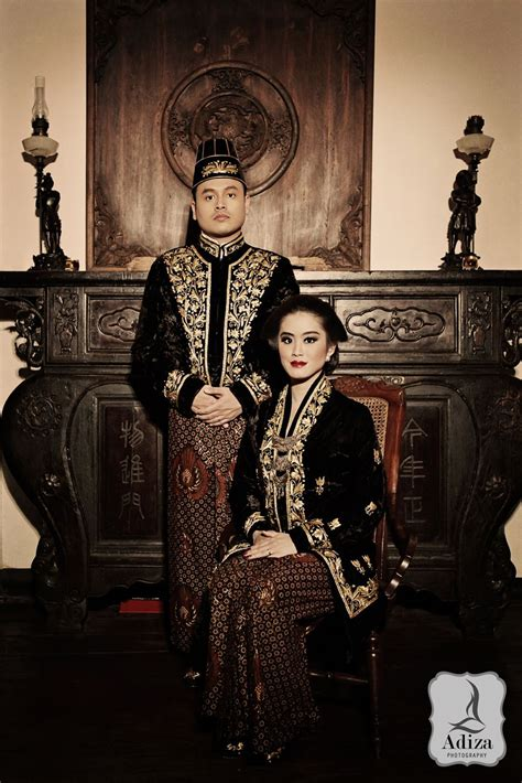 javanese prewedding adiza photography gaun pengantin