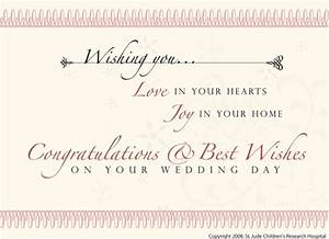 Wedding card greeting messages wblqualcom for Examples of wedding gift cards
