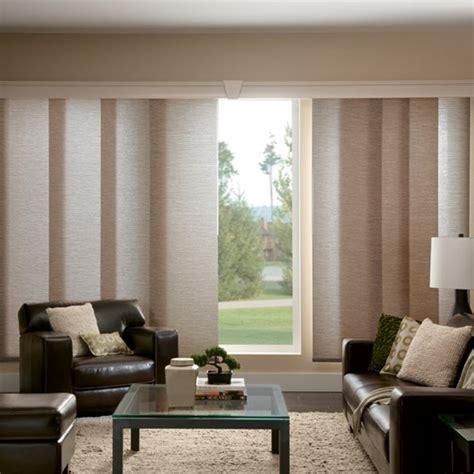 sliding panel blinds window treatments for sliding doors centsational