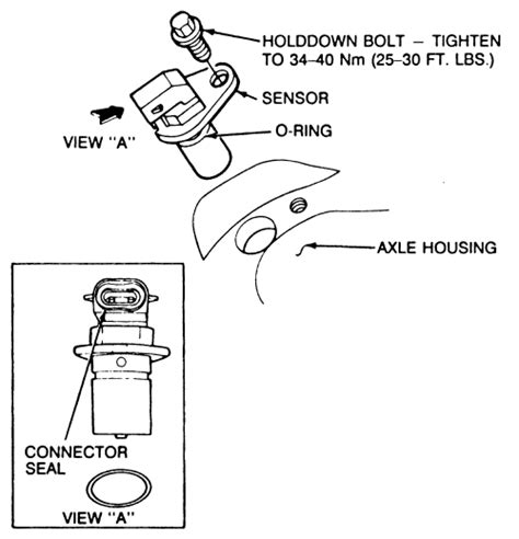 repair anti lock braking 2010 ford fusion transmission control repair guides rear anti lock brake system rabs speed sensor autozone com
