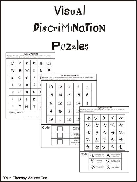 Worksheet Visual Discrimination Worksheets Grass Fedjp Worksheet Study Site