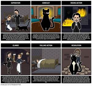 Plot Diagram For The Black Cat Storyboard By Kristy