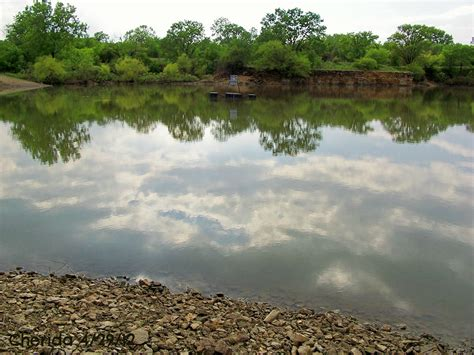 Reflection on the water, clouds and trees   Water, Clouds ...