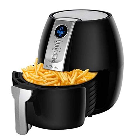 ultrean fryer air fryers oven airfryer pot cooker frying recipes oilless cookbook oil amazon rated lcd easy detachable screen easily