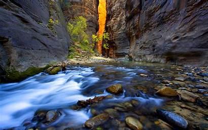 Stream Mountain Wallpapers A1 Desktop 4k Natur