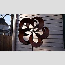 Costco Metal Wind Spinner Kinetic Garden Sculpture Youtube