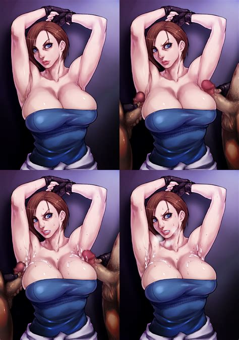 Jill Valentine Resident Evil And 1 More Drawn By Sawao